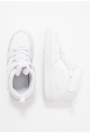 Nike COURT BOROUGH MID  - Babyschoenen - white whiteNIKE303806