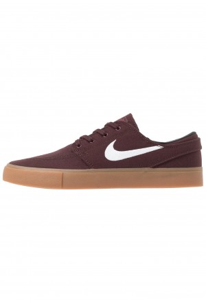 Nike SB ZOOM JANOSKI - Sneakers laag mahogany/white/light brown/photo blue/hyper pinkNIKE202436