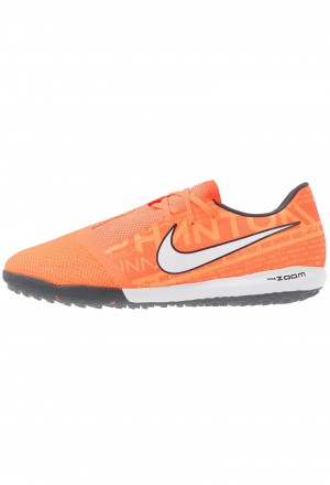 Nike ZOOM PHANTOM PRO TF - Voetbalschoenen voor kunstgras bright mango/white/orange/anthraciteNIKE203002