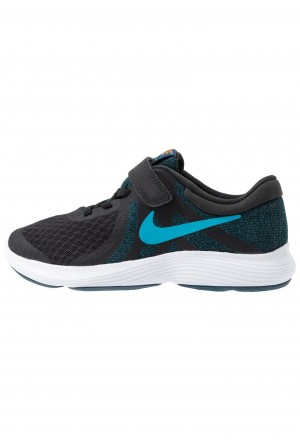 Nike REVOLUTION 4 - Hardloopschoenen neutraal off noir/light current blue/blue force/metallic copperNIKE303604