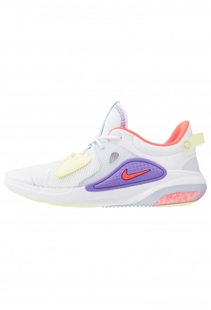 Nike JOYRIDE  - Sneakers laag white/bright crimson/atomic violet/pale vanilla/luminous greenNIKE202417