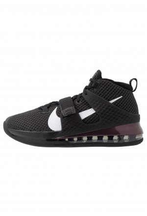 Nike AIR FORCE MAX II - Basketbalschoenen black/whiteNIKE202879