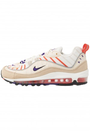 Nike AIR MAX 98 - Sneakers laag sail/court purple/light cream/desert oreNIKE202326