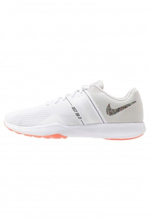 Nike CITY TRAINER 2 - Sportschoenen white/vast grey/lava glowNIKE101677