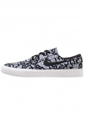 Nike SB ZOOM JANOSKI - Sneakers laag - black/white/vast grey/light brown/multicolor black/white/vast grey/light brown/multicolorNIKE202433