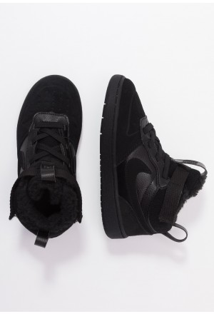 Nike COURT BOROUGH MID WINTERIZED  - Babyschoenen black/whiteNIKE303805