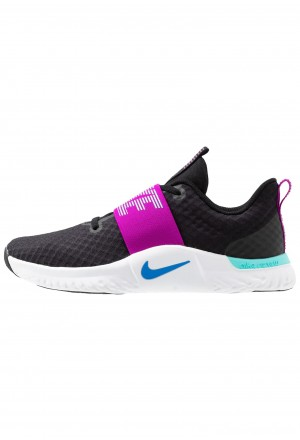 Nike RENEW IN-SEASON TR 9 - Sportschoenen black/photo blue/vivid purple/light aqua/whiteNIKE101656