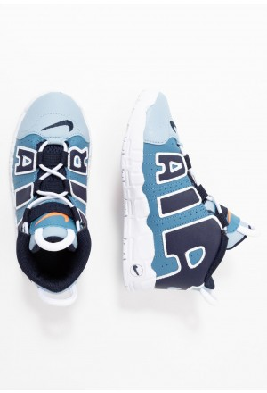 Nike AIR MORE UPTEMPO - Sneakers hoog blueNIKE303371