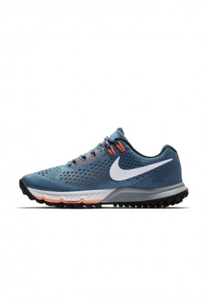 Nike AIR ZOOM TERRA KIGER 4 - Trail hardloopschoenen noise aqua/deep jungle/crimson pulse/whiteNIKE101932
