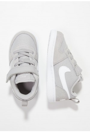 Nike COURT BOROUGH LOW - Sneakers laag atmosphere grey/whiteNIKE303325