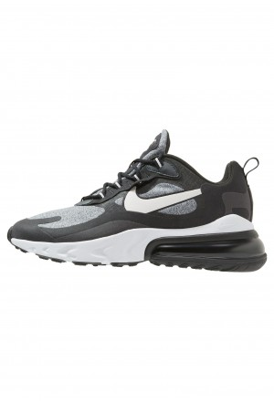 Nike AIR MAX 270 REACT - Sneakers laag black/vast grey/off noirNIKE202293