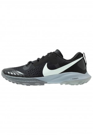 Nike AIR ZOOM TERRA KIGER 5 - Trail hardloopschoenen black/barely grey/gunsmoke/wolf greyNIKE101873