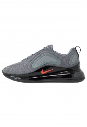 Nike AIR MAX 720 - Sneakers laag cool grey/bright crimson/black/reflect silverNIKE202648