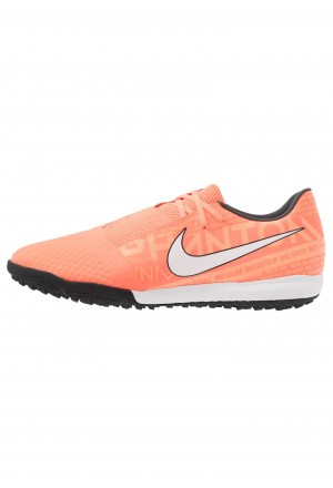 Nike PHANTOM ACADEMY TF - Voetbalschoenen voor kunstgras bright mango/white/orange/anthraciteNIKE203109