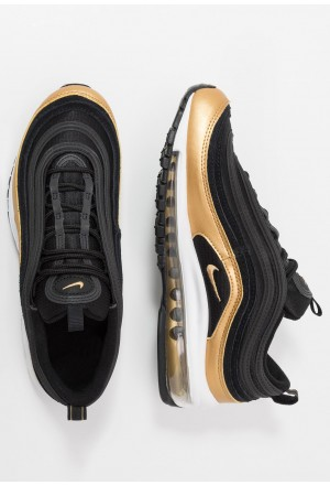 Nike AIR MAX 97 - Sneakers laag black/metallic goldNIKE303338