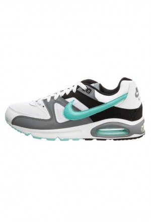 Nike AIR MAX COMMAND - Sneakers laag white/aurora green/blackNIKE202652