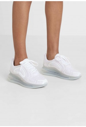 Nike AIR MAX 720 - Sneakers laag white/metallic platinum/pure platinumNIKE101370