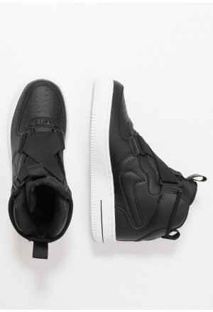 Nike AIR FORCE 1 BG - Sneakers hoog black/whiteNIKE303346
