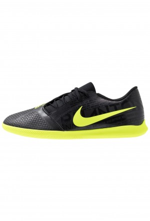 Nike PHANTOM CLUB IC - Zaalvoetbalschoenen black/voltNIKE203152