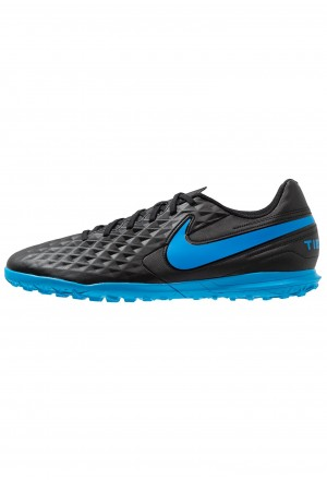 Nike LEGEND 8 CLUB TF - Voetbalschoenen voor kunstgras black/blue heroNIKE203158