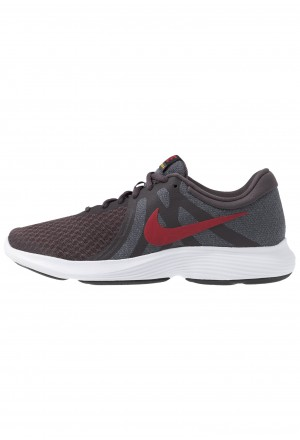 Nike REVOLUTION - Trail hardloopschoenen thunder grey/team crimson/gunsmoke/amarillo/black/whiteNIKE202760