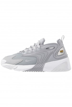 Nike ZOOM 2K - Sneakers laag wolf grey/metallic silver/whiteNIKE202481