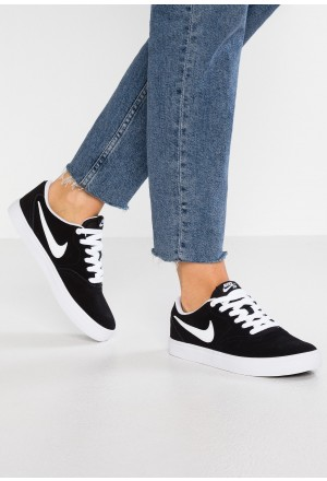 Nike SB CHECK SOLAR - Sneakers laag black/whiteNIKE101396