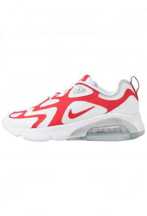 Nike AIR MAX 200 - Sneakers laag white/university red/metallic silverNIKE202263