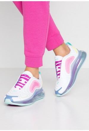 Nike AIR MAX 720 - Sneakers laag white/light aqua/chalk blue/psychic pink/luminous green/hyper violetNIKE101381
