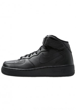 Nike AIR FORCE 1 MID '07 - Sneakers hoog blackNIKE202358