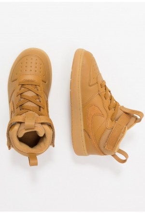 Nike COURT BOROUGH MID 2 BOOT - Sneakers hoog wheat/medium brownNIKE303176