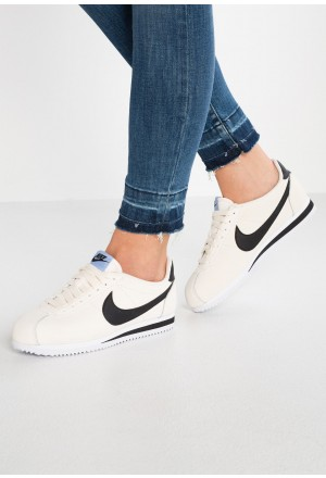 Nike CLASSIC CORTEZ - Sneakers laag pale ivory/black/aluminum/whiteNIKE101578