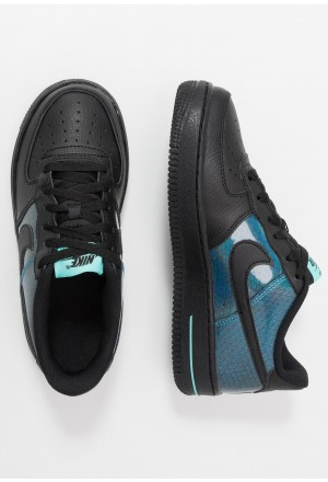 Nike AIR FORCE 1 LV8 HO19  - Sneakers laag black/blue hero/aurora greenNIKE303337