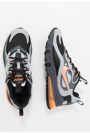 Nike AIR MAX 270 REACT WINTER - Sneakers laag black/total orange/wolf grey/dark greyNIKE303259