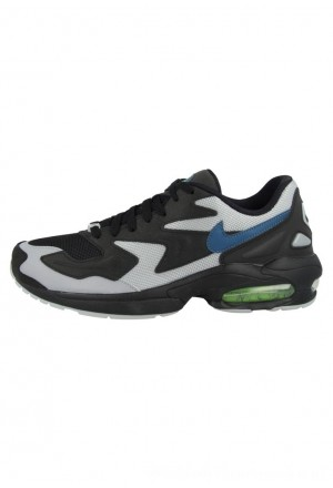 Nike AIR MAX LIGHT - Sneakers laag blackNIKE202592