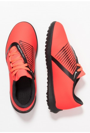 Nike PHANTOM CLUB TF - Voetbalschoenen voor kunstgras bright crimson/black/metallic silverNIKE303710