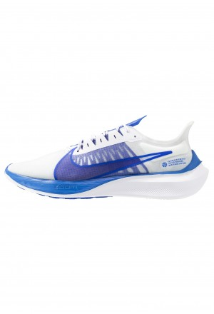 Nike ZOOM GRAVITY - Hardloopschoenen neutraal white/clear/racer blue/football grey/racer blueNIKE203068