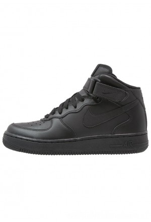 Nike AIR FORCE 1 - Sneakers hoog noirNIKE303260