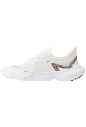 Nike FREE RUN 5.0 ANTI WINTER - Loopschoen neutraal white/blue hero/summit whiteNIKE202814