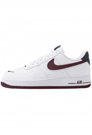 Nike AIR FORCE 1 07 LV8 - Sneakers laag white/night maroon/obsidianNIKE202427