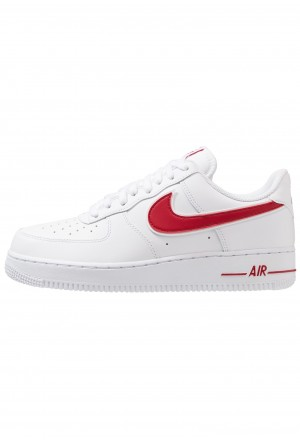 Nike AIR FORCE 1 '07 - Sneakers laag white/gym redNIKE101568