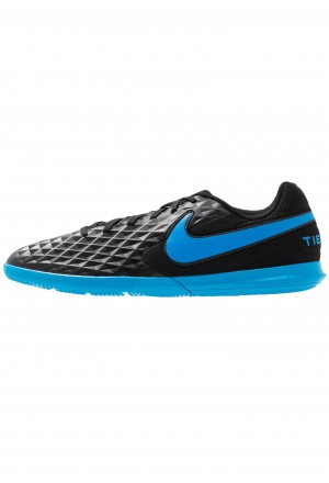 Nike LEGEND 8 CLUB IC - Zaalvoetbalschoenen black/blue heroNIKE203170