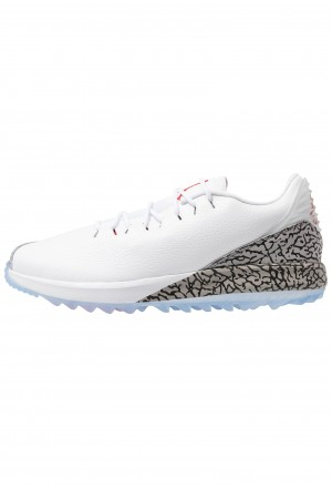 Nike Golf Golfschoenen white/fire red/cement greyNIKE202890