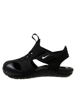 Nike SUNRAY PROTECT - Badslippers black/whiteNIKE303624