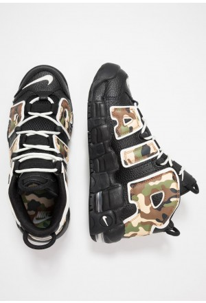 Nike AIR MORE UPTEMPO QS - Sneakers hoog blackNIKE303492