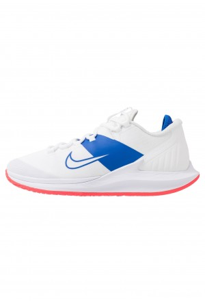 Nike COURT AIR ZOOM - Tennisschoenen voor alle ondergronden white/game royal/flash crimsonNIKE202968