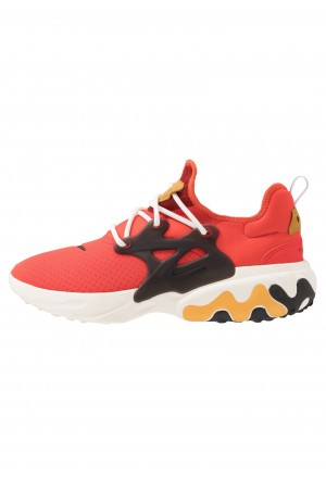Nike REACT PRESTO - Sneakers laag habanero red/black/wheat/sailNIKE202451