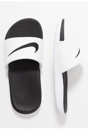 Nike KAWA SLIDE - Badslippers white/blackNIKE303659
