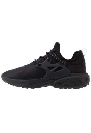 Nike REACT PRESTO - Sneakers laag black/electric greenNIKE202448