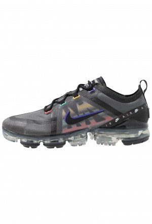 Nike AIR VAPORMAX 2019 SE - Sneakers laag black/psychic purple/flash crimson/university gold/kinetic greenNIKE202629